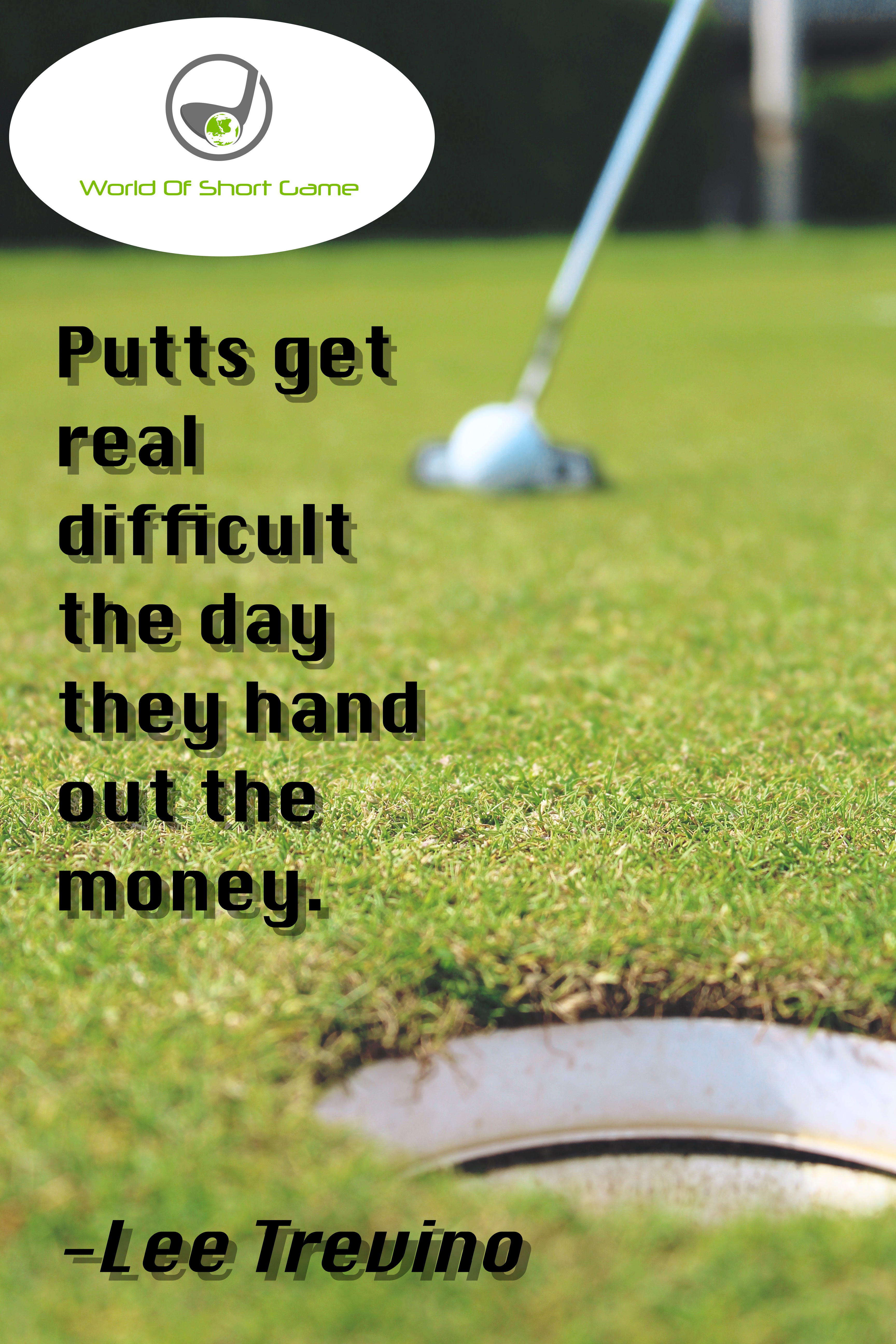 Golf Quotes | Golf Quotes World Of Short Game