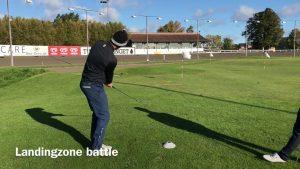 Chippe øvelse landingszone-spil