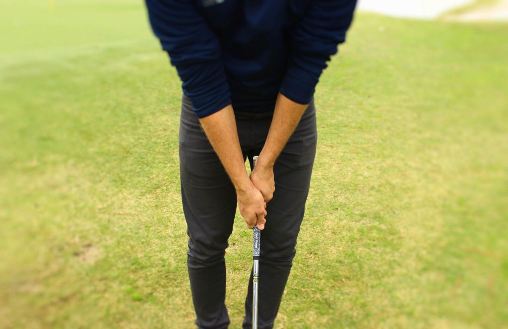 Grip it loose when chipping