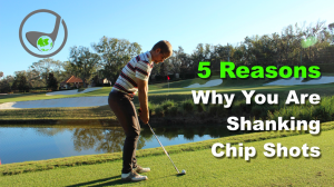 Shanking chip shots