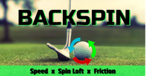 How to put backspin on a golf ball