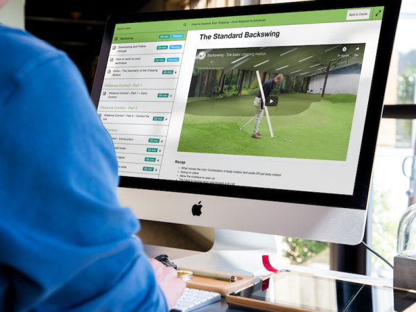 The online course How to Improve Your Chipping